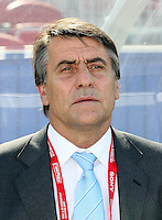 Fussball International U 20 WM  Achtelfinale Argentinien - Polen ARG-Trainer Hugo TOCALLI