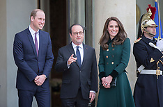 Duke and Duchess of Cambridge in Paris- 17-3-17