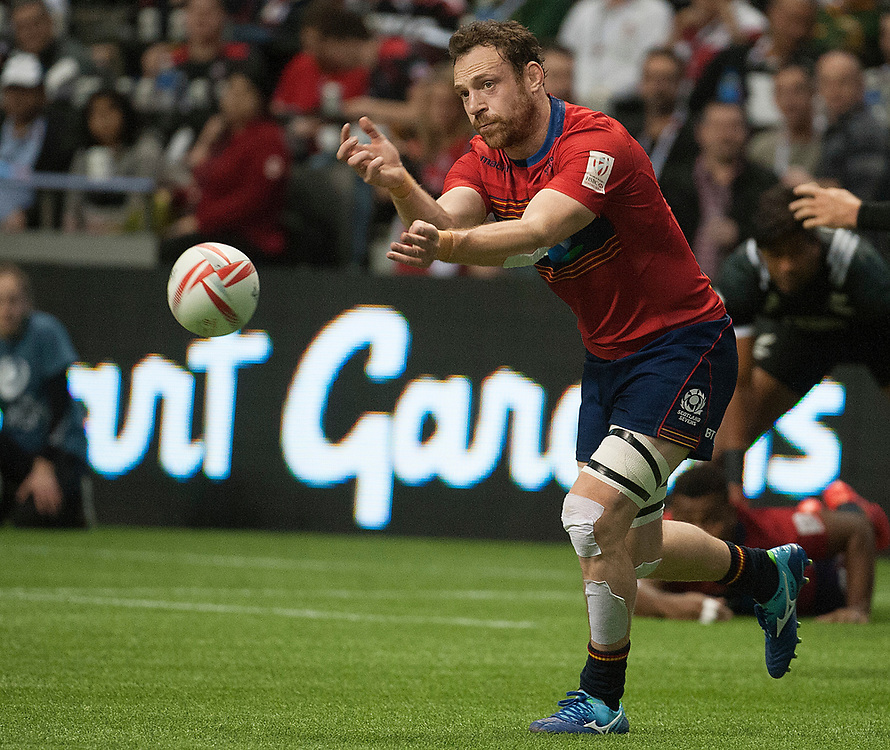 Scotland play New Zealand during the pool stages of the Canada Sevens,  Round Six of the World Rugby HSBC Sevens Series in Vancouver, British Columbia, Saturday March 11, 2017. <br /> <br /> Jack Megaw.<br /> <br /> www.jackmegaw.com<br /> <br /> jack@jackmegaw.com<br /> @jackmegawphoto<br /> [US] +1 610.764.3094<br /> [UK] +44 07481 764811