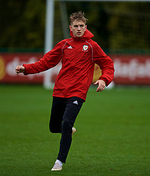 CARDIFF, WALES - Sunday, October 14, 2018: Wales' David Brooks during a training session at the Vale Resort ahead of the UEFA Nations League Group Stage League B Group 4 match between Republic of Ireland and Wales. (Pic by David Rawcliffe/Propaganda)