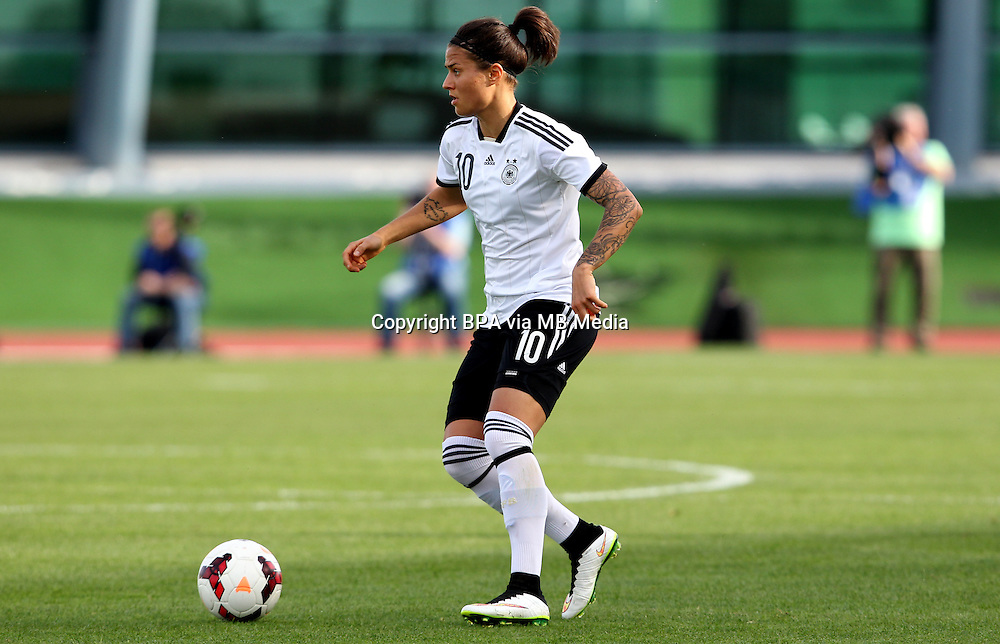 Fifa Womans World Cup Canada 2015 - Preview //<br /> Algarve Cup 2015 Tournament ( Vila Real San Antonio Sport Complex - Portugal ) - <br /> Germany vs Sweden 2-4   -  Dzsenifer Marozsan of Germany
