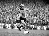 Mike Bailey - Wolverhampton Wanderers. West Ham United v Wolverhampton Wanderers 16/11/74. Credit: Colorsport