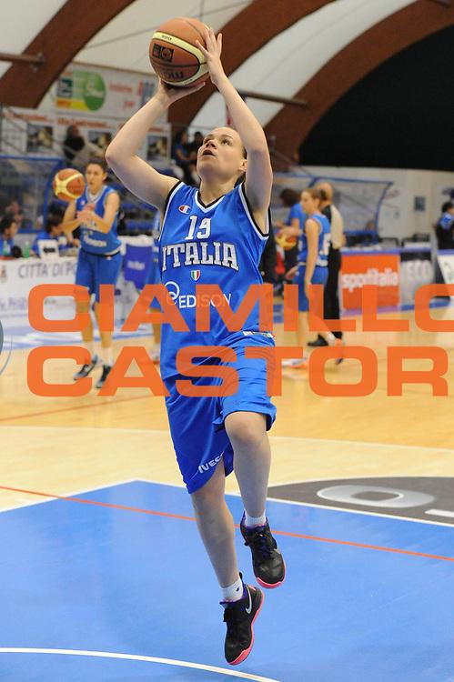 DESCRIZIONE : Pomezia Nazionale Italia Donne Torneo Citt&agrave; di Pomezia Italia Olanda<br /> GIOCATORE : martina crippa<br /> CATEGORIA : tiro<br /> SQUADRA : Italia Nazionale Donne Femminile<br /> EVENTO : Torneo Citt&agrave; di Pomezia<br /> GARA : Italia Olanda<br /> DATA : 26/05/2012 <br /> SPORT : Pallacanestro<br /> AUTORE : Agenzia Ciamillo-Castoria/GiulioCiamillo<br /> Galleria : FIP Nazionali 2012<br /> Fotonotizia : Pomezia Nazionale Italia Donne Torneo Citt&agrave; di Pomezia Italia Olanda