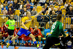 Handball match between RK Celje Pivovarna Lasko and Telekom Veszprem in 1st round of VELUX EHF Champions League, on September 16, 2017 in Arena Zlatorog, Celje, Slovenia. Photo by Ziga Zupan / Sportida