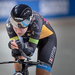 28-12-2018: Wielrennen: NK Baan: Apeldoorn<br />Loes Adegeest (Enschede) rijdt de tweede tijd in de kwalificatie en mag de finale rijden