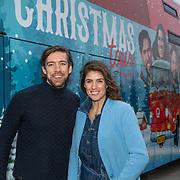 NLD/Amsterdam/20191216 - Q-christmas tour rijdt door Nederland, Marieke Elsinga en Mattie Valk