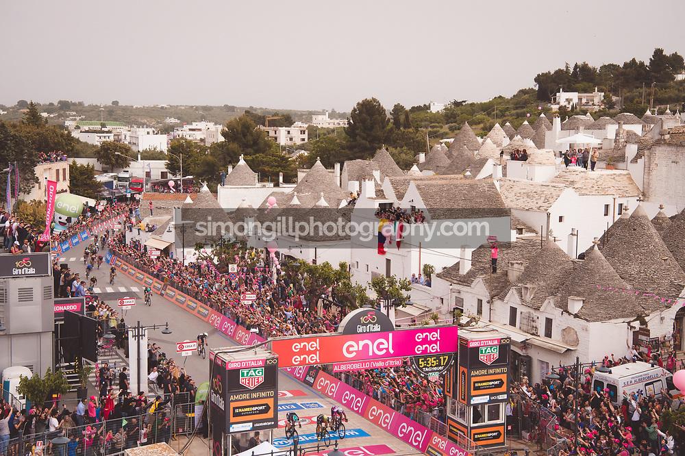 Giro d'Italia Stage 7 Castroviilari to Alberobello, Italy. 12th May, 2017. Credit: Simon Gill/The Cycling Podcast