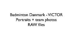 20170906 RAW files - VICTOR - Badminton Danmark team and portrait photos