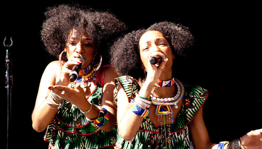 Le Nubians on Summerstage in New York City<br /> <br /> Summer 2009