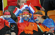 JOHANNESBURG, SOUTH AFRICA- Sunday 11 July 2010, Dutch fans during the final between Spain The Netherlands (Holland) held at Soccer City in Soweto during the 2010 FIFA Soccer World Cup..Photo by Roger Sedres/Image SA