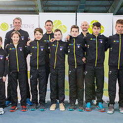20180120: SLO, Tennis - Presentation of Slovenian young national team