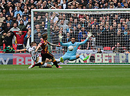Bradford City's Billy Clarke during the Sky Bet League 1 play-off final at Wembley Stadium, London<br /> Picture by Glenn Sparkes/Focus Images Ltd 07939664067<br /> 20/05/2017