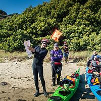 Paddlepalooza. 2019. Around Angel Island. Johnathan explainging the navigation for the return route.