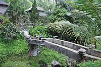Bridge at Gunung Kawi, Gianyar Regency, Bali, Indonesia.