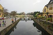Vietnam, Hoi An Old town Bridge