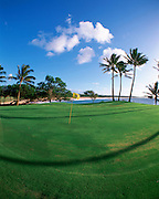 Kaluakoi Golf Course, Molokai, Hawaii, USA<br />