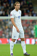 England striker Harry Kane during the Group E UEFA European 2016 Qualifier match between England and Estonia at Wembley Stadium, London, England on 9 October 2015. Photo by Alan Franklin.