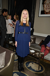 KATIA ELIZAROVA at the Tatler Little Black Book Party held at Home House Private Member's Club, Portman Square, London supported by CARAT on 6th November 2014.