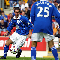 St Johnstone v Dunfermline.... 04.8.01<br />St Johnstone new signing Peter MacDonald<br /><br />Pic by Graeme Hart<br />Copyright Perthshire Picture Agency<br />Tel: 01738 623350 / 07990 594431