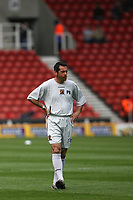 Photo: Pete Lorence.<br />Stoke City v Hull City. Coca Cola Championship. 21/04/2007.<br />Phil Brown before the match.