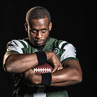 The New York Jets portraits on media day for CBS Sports at Atlantic Health Training Center in Florham Park, NJ on Monday June 13, 2016.<br /> (Ben Solomon/CBS Sports)