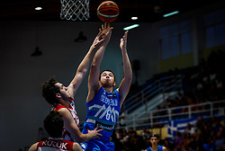 Prepelic Bine of Slovenia during basketball match between National teams of Turkey and Slovenia in the SemiFinal of FIBA U18 European Championship 2019, on August 3, 2019 in Nea Ionia Hall, Volos, Greece. Photo by Vid Ponikvar / Sportida