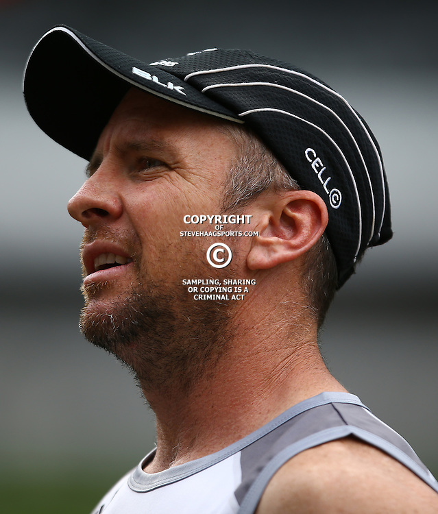 DURBAN, SOUTH AFRICA, 9 September, 2016 -Johan Pretorius Head Strength &amp; Conditioning Coach during The Cell C Sharks Captains Run at Growthpoint Kings Park in Durban, South Africa. (Photo by Steve Haag)<br /> <br /> images for social media must have consent from Steve Haag