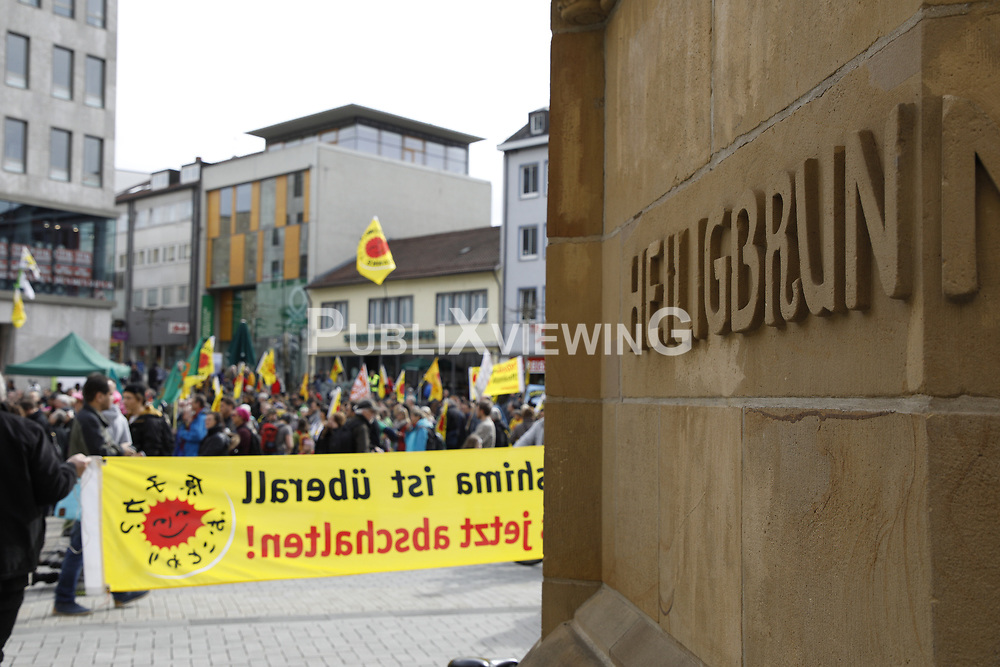 Symbolfoto: Demonstration in Heilbronn<br /> <br /> Ort: Heilbronn<br /> Copyright: Andreas Conradt<br /> Quelle: PubliXviewinG