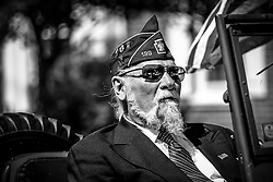 May 27, 2019 - Milford, Pennsylvania, U.S - Veterans pay homage to their brothers in arms during Memorial Day in Milford, Pennsylvania. (Credit Image: © Preston Ehrler/ZUMA Wire)