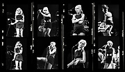 Debbie Harry - Blondie Live in London 1979 - Contact sheet large format