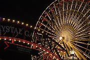Ferrs Wheel on the Navy Pier Chicago Illinois