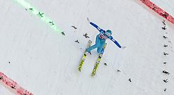 03.01.2016, Bergisel Schanze, Innsbruck, AUT, FIS Weltcup Ski Sprung, Vierschanzentournee, Bewerb, im Bild Michael Hayboeck (AUT) // Michael Hayboeck of Austria during his Competition Jump of Four Hills Tournament of FIS Ski Jumping World Cup at the Bergisel Schanze, Innsbruck, Austria on 2016/01/03. EXPA Pictures © 2016, PhotoCredit: EXPA/ JFK