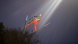 06.01.2015, Paul Ausserleitner Schanze, Bischofshofen, AUT, FIS Ski Sprung Weltcup, 63. Vierschanzentournee, Finale, im Bild Anders Fannemel (NOR) // Anders Fannemel of Norway during Final Jump of 63rd Four Hills <br /> Tournament of FIS Ski Jumping World Cup at the Paul Ausserleitner Schanze, Bischofshofen, Austria on 2015/01/06. EXPA Pictures © 2015, PhotoCredit: EXPA/ JFK