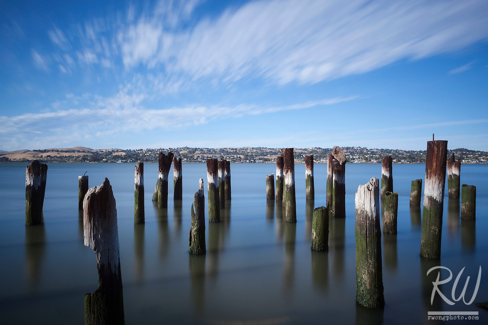 Port Costa Old Pier Pilings, Contra Costa County, California