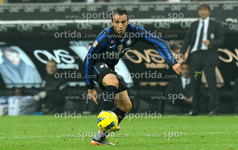 29.10.2011, Giuseppe Meazza Stadion, Mailand, ITA, Serie A, Inter Mailand vs Juventus Turin, im Bild Giampaolo PAZZINI // during the serie A match between Inter Mailand vs Juventus Turin, at the Giuseppe Meazza stadium, Milan, Italy on 29/10/2011. EXPA Pictures © 2011, PhotoCredit: EXPA/ InsideFoto/ Alessandro Sabattini +++++ ATTENTION - FOR AUSTRIA/(AUT), SLOVENIA/(SLO), SERBIA/(SRB), CROATIA/(CRO), SWISS/(SUI) and SWEDEN/(SWE) CLIENT ONLY +++++