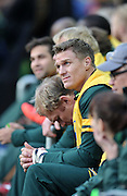 CAPE TOWN, SOUTH AFRICA - Saturday 11 July 2015, Jean de Villiers of South Africa on the bench during the rugby test match between South Africa (Springboks) and the Word XV at Newlands Rugby stadium.<br /> Photo by Luigi Bennett / ImageSA