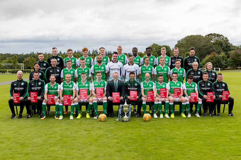 Hibernian team groupp
