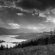 Loch Garry, Glen Garry, Scotland.