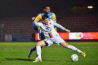 Frederic PIQUIONNE / Malik COUTURIER - 23.01.2015 - Creteil / Laval - 21eme journee de Ligue 2<br /> Photo : Dave Winter / Icon Sport