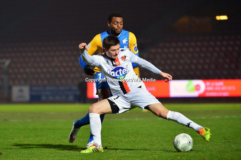 Frederic PIQUIONNE / Malik COUTURIER - 23.01.2015 - Creteil / Laval - 21eme journee de Ligue 2<br /> Photo : Dave Winter / Icon Sport