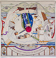 Panels of The Great Tapestry of Scotland