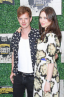 Richard Jones & Sophie Ellis-Bextor, Kopparberg Urban Forest - Launch Party, Abbott Street Car Park, London UK, 02 July 2014, Photo by Brett D. Cove