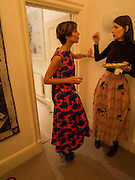 VALERIA NAPOLEONE; ROKSANDA ILINCIC;, Valeria Napoleone hosts a dinner at her home in honour of Judith Hopf in cerebration of her new commission at Studio Voltaire. London. 15 October 2013