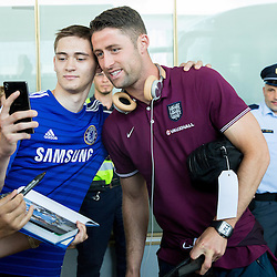 20150613: SLO, Football - Arrival of England National Team to Slovenia