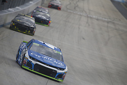 October 7, 2018 - Dover, Delaware, United States of America - Kyle Larson (42) battles for position during the Gander Outdoors 400 at Dover International Speedway in Dover, Delaware. (Credit Image: © Justin R. Noe Asp Inc/ASP via ZUMA Wire)