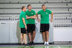 at first practice of KK Petrol Olimpija in season 2018-19, on August 6, 2018 in SRC Stozice, Ljubljana, Slovenia. Photo by Matic Klansek Velej / Sportida