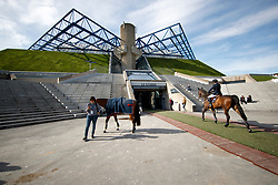 Impression Halle<br /> Paris - FEI World Cup Finals 2018<br /> Impressionen vor der Halle<br /> www.sportfotos-lafrentz.de/Stefan Lafrentz<br /> 11.04.18