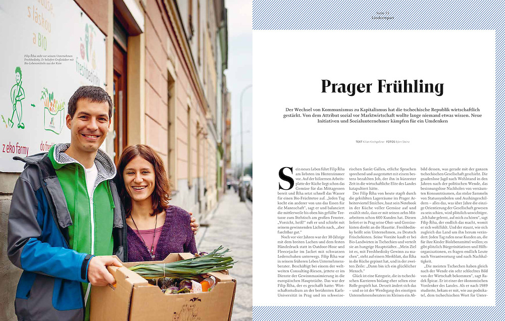 Magazin ENORM, Länderreport Tschechien