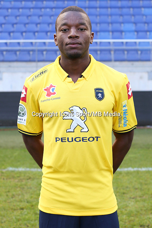 Lamarana DIALLO - 04.10.2014 - Photo officielle Sochaux - Ligue 2 2014/2015<br /> Photo : Icon Sport