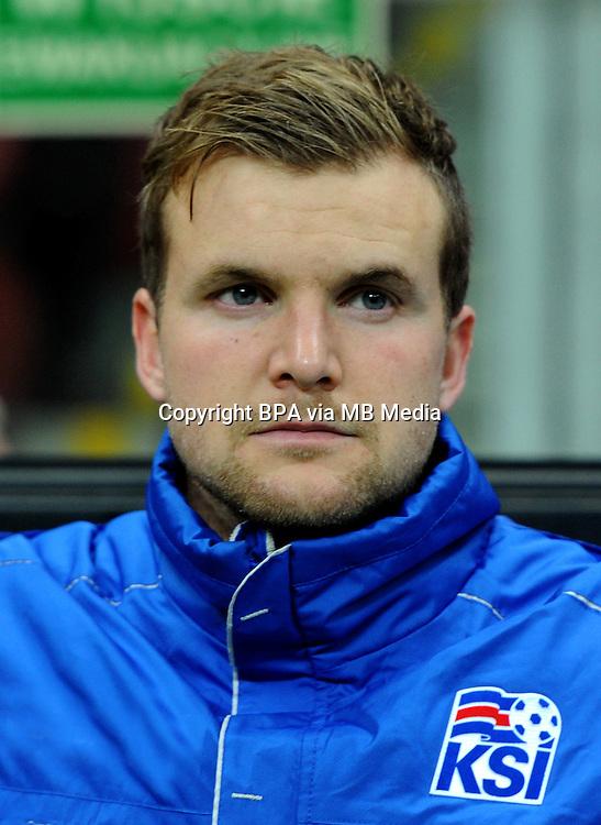 Uefa Euro FRANCE 2016 - <br /> Iceland National Team - <br /> Ingvar Jonsson